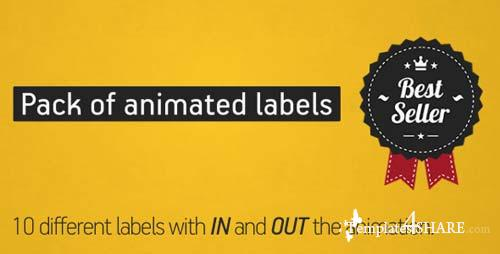 Animated Labels Pack - After Effects Project (Videohive)