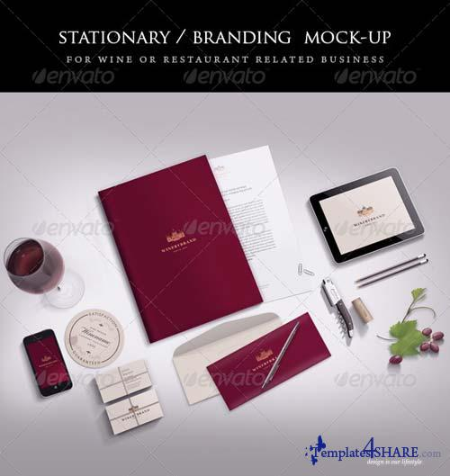 GraphicRiver Stationery / Branding mock-up 5061910