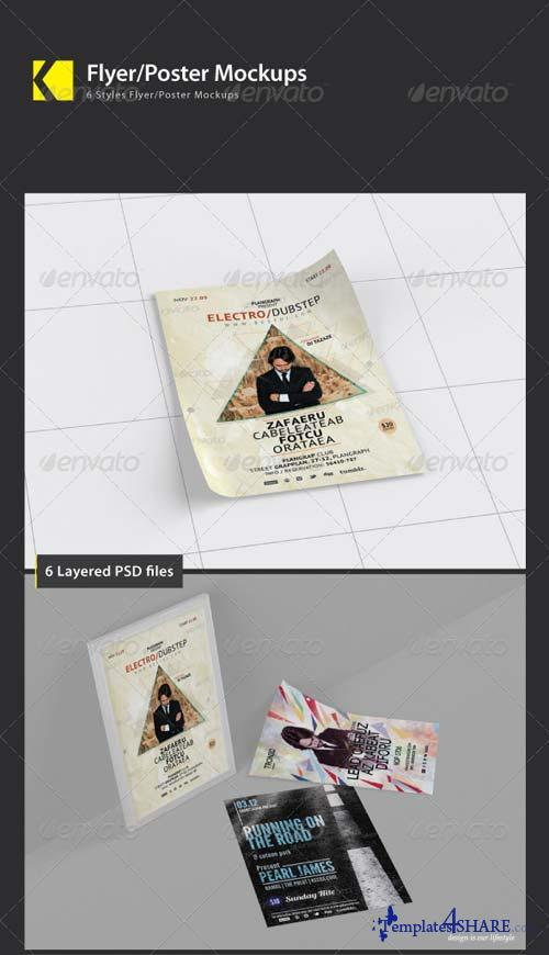 GraphicRiver Flyer/Poster Mockups