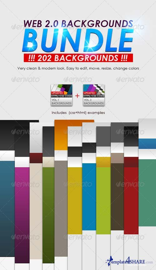 GraphicRiver Web 2.0 Backgrounds Bundle