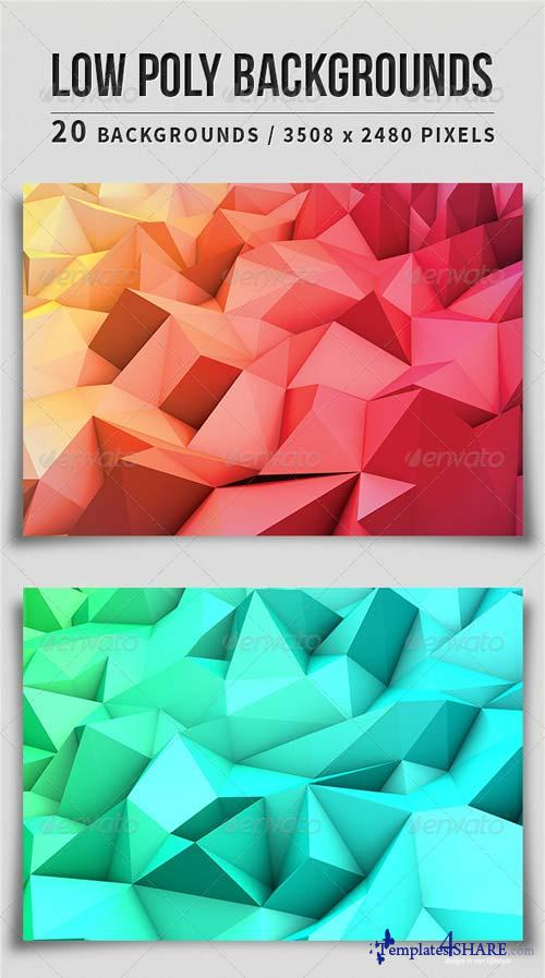 GraphicRiver Low Poly Backgrounds