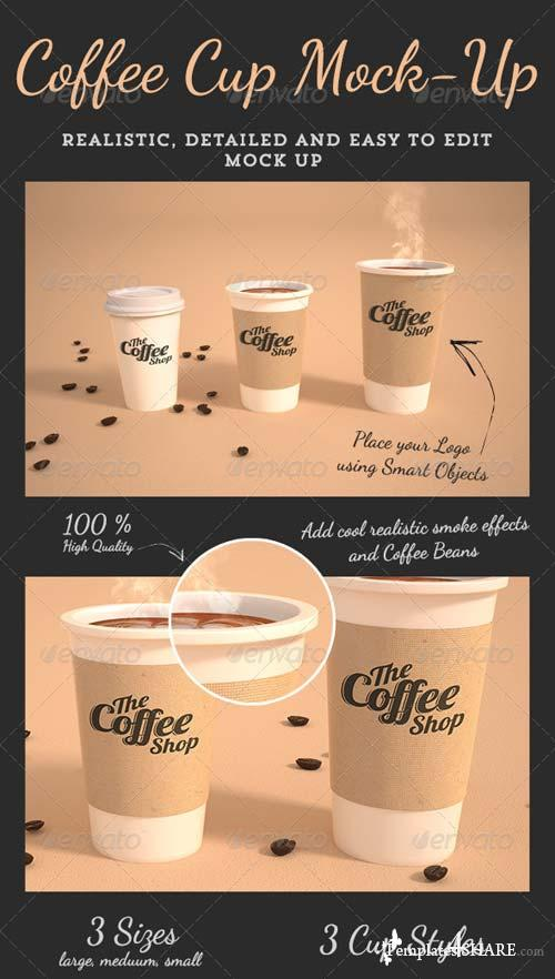 GraphicRiver Coffee Cup Mock-Up