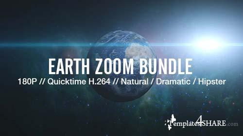 Earth Zoom Bundle - After Effects Motion Graphics (Videohive)