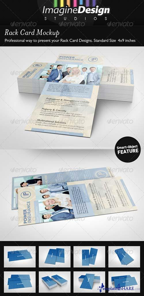 GraphicRiver Rack Card Mockup