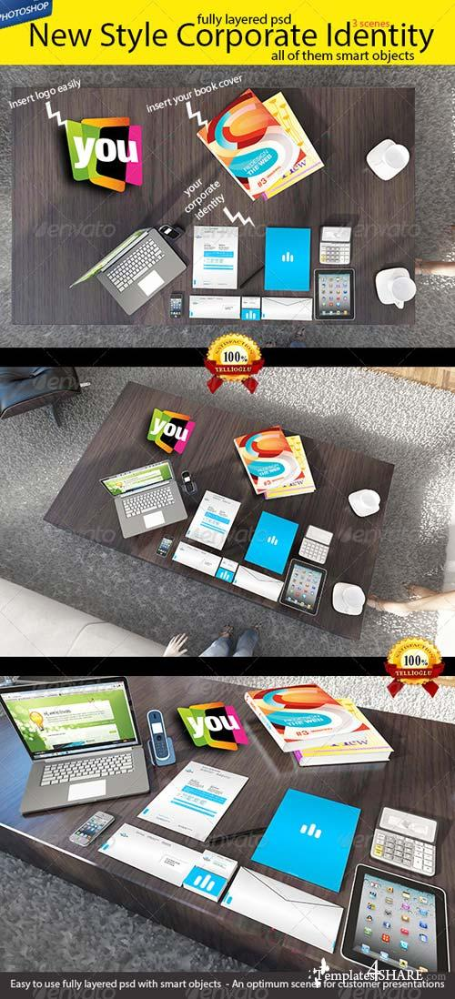 GraphicRiver New Style Branding / Stationery Mock-up