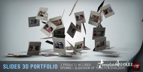 Slides 3D - Portfolio And Opening - After Effects Project (Videohive)