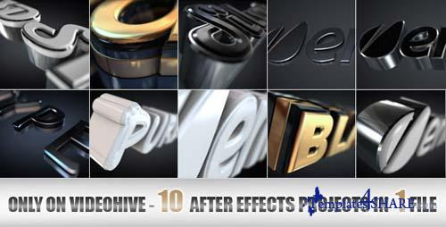 Elegant and Modern Logo or Text Opener - After Effects Project (Videohive)