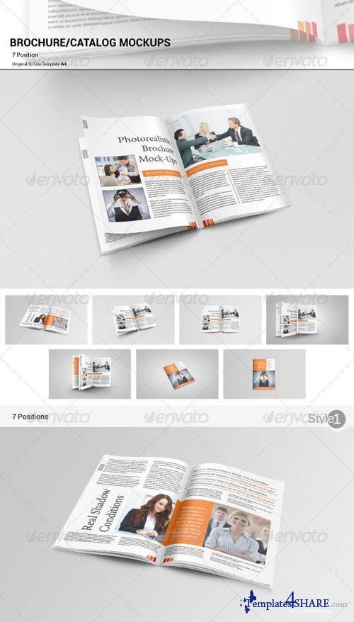 GraphicRiver Catalog Brochure Mockups