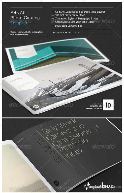 GraphicRiver Minimal Photo Catalog Template