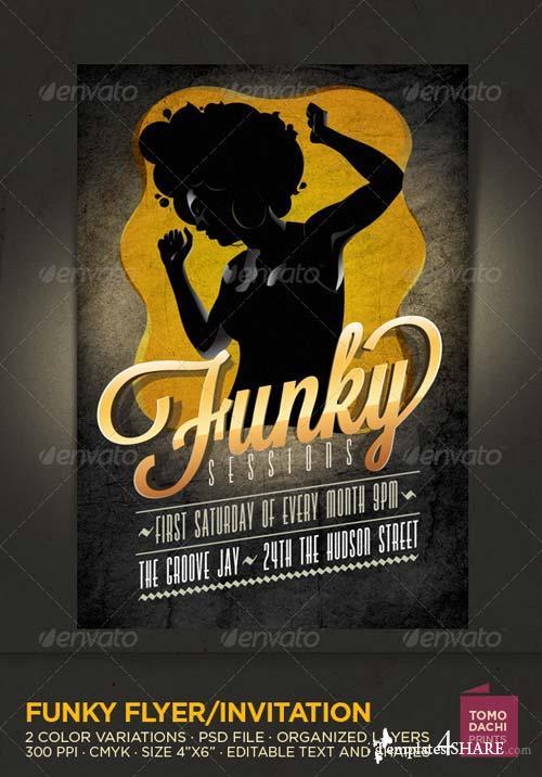 GraphicRiver Funky Flyer/Invitation