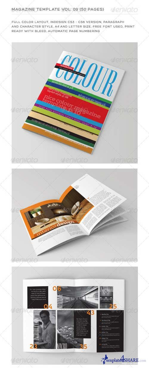 GraphicRiver InDesign Magazine Template Vol. 09 (50 pages)