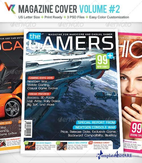 GraphicRiver Magazine Cover Volume 2