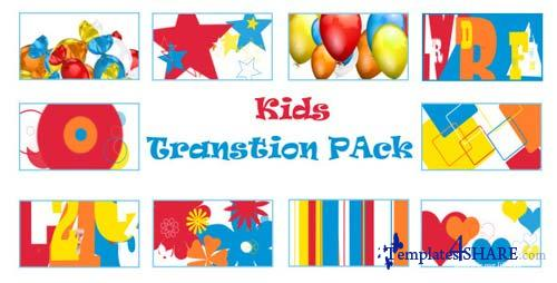 Kids Transition Pack - After Effects Motion Graphics (Videohive)