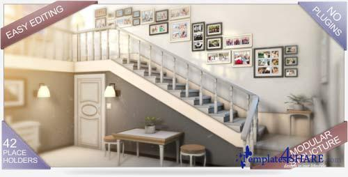 Stairway of Memories - After Effects Project (Videohive)