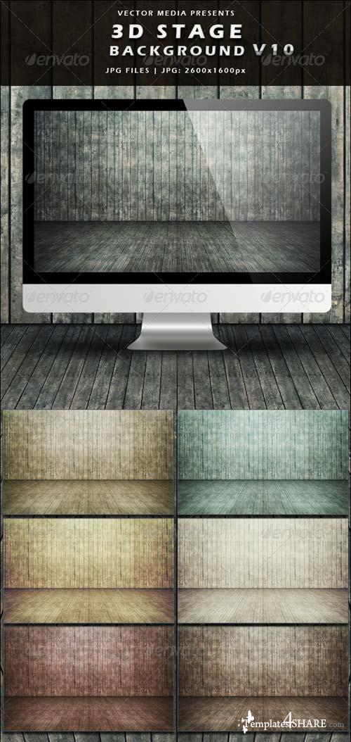 GraphicRiver 3D Stage Background - Vol.10