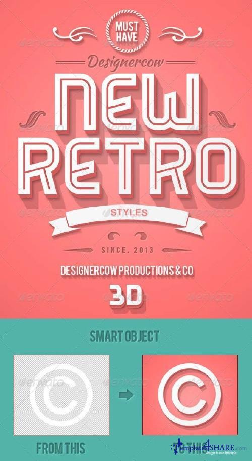 GraphicRiver New 3D Retro Creator