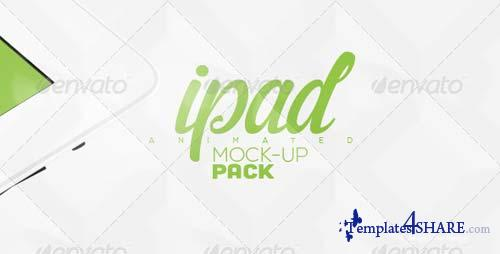 GraphicRiver Animated iPad Mock-up Pack