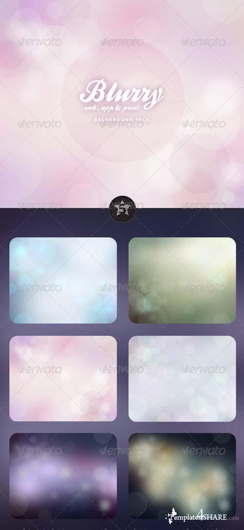 GraphicRiver Blurry Backgrounds