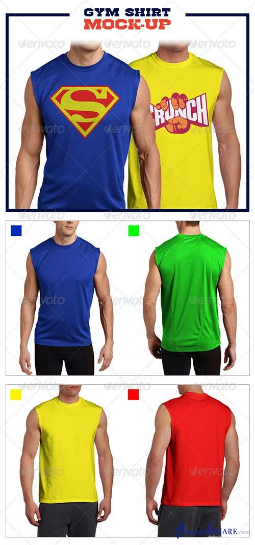 GraphicRiver Gym Shirt Mock-Up Pack