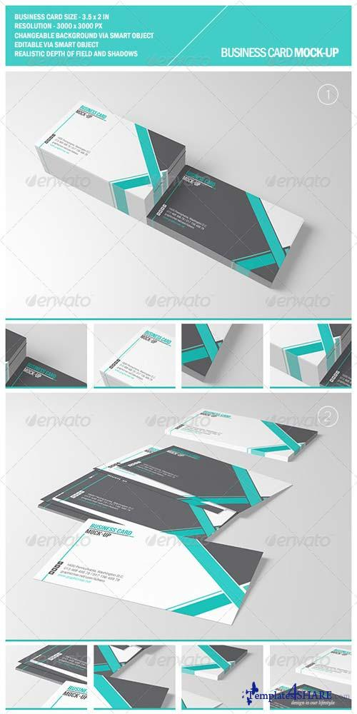GraphicRiver Business Card Mockup 5166658