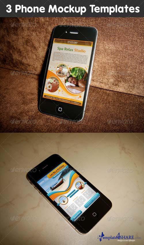 GraphicRiver Phone Mockup 02