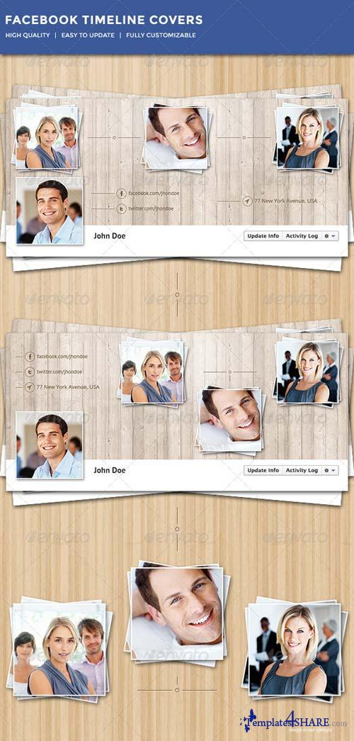 GraphicRiver Facebook Timeline Covers 5151003