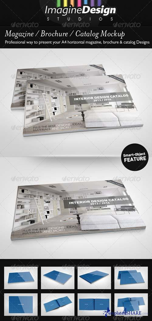GraphicRiver Magazine / Brochure / Catalog Mock-Up