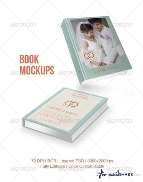 GraphicRiver Book Mockups 5138133