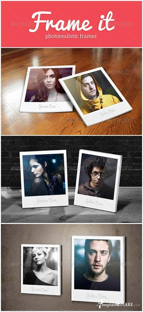 GraphicRiver Frame It Mockups