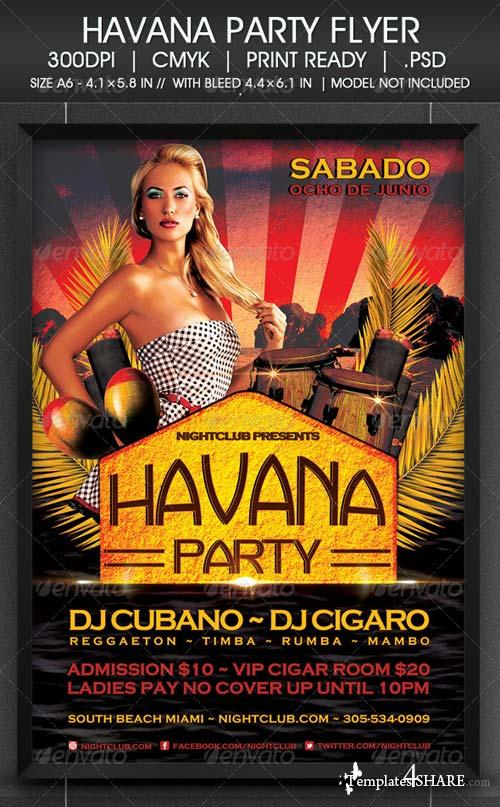 GraphicRiver Havana Party