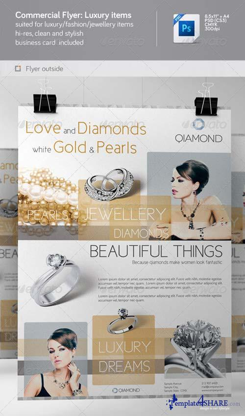 GraphicRiver Commercial Flyer: Luxury Items