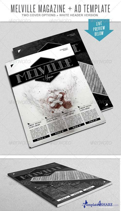 GraphicRiver Melville InDesign Mgz Template