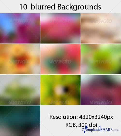 GraphicRiver 10 Blurred Backgrounds vol 2