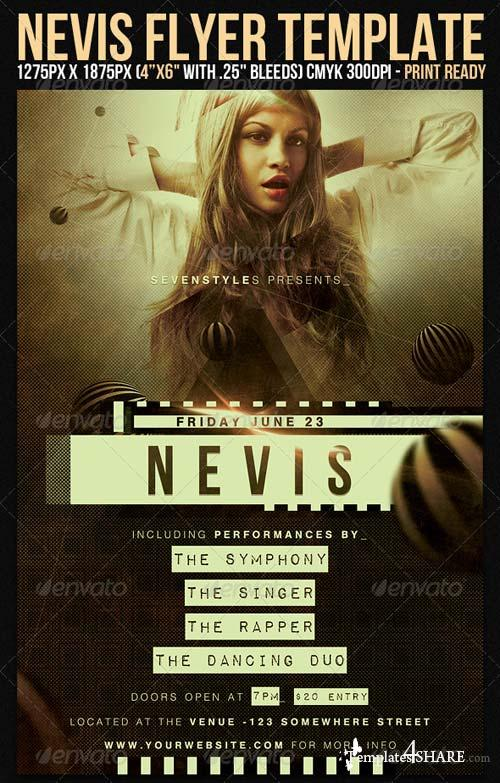Graphicriver Nevis Flyer Template