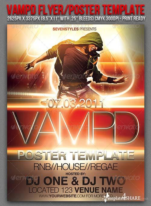 Graphicriver Vampd Poster/Flyer Template