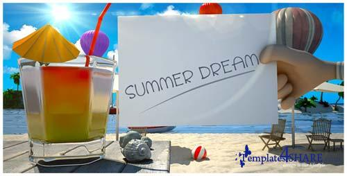 Summer Dream Vacation - After Effects Project (Videohive)