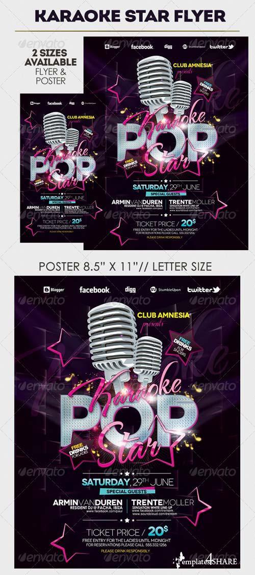 GraphicRiver Karaoke Party