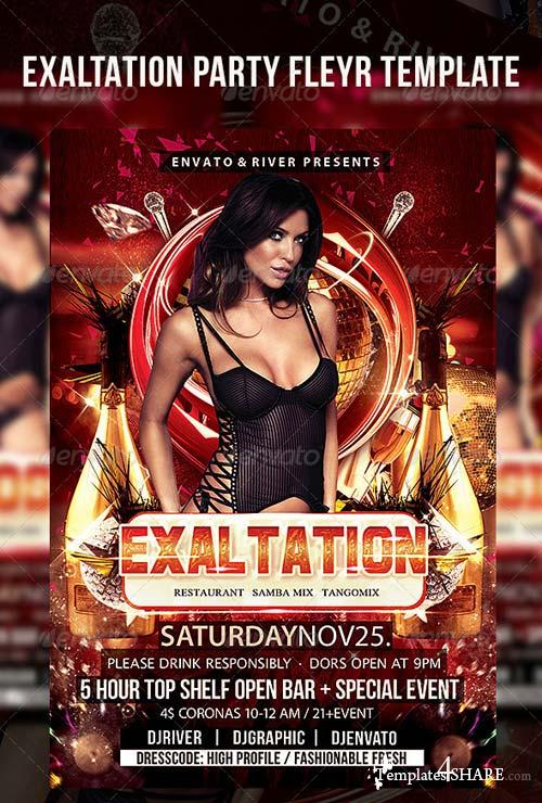 GraphicRiver Exaltation Party Flyer Template