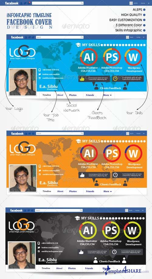 GraphicRiver Infographic FB Timeline Cover