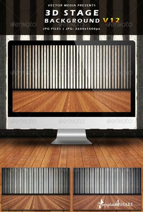 GraphicRiver 3D Stage Background - Vol.12