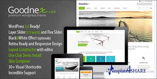 ThemeForest - Goodnex Premium Responsive WordPress Theme