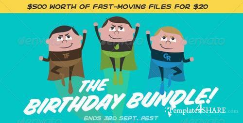 Envato Birthday Bundle 2013