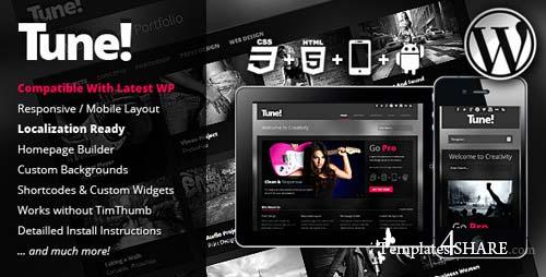 ThemeForest - Tune Responsive Creative Business WordPress Theme
