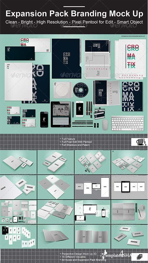GraphicRiver Expansion Pack Branding Mock Up