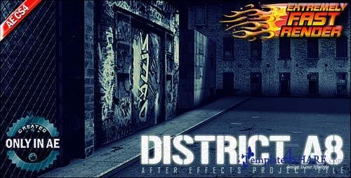 District A8 - After Effects Project (Videohive)