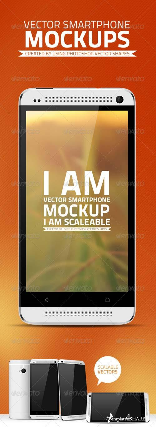 GraphicRiver Vector Smartphone Mockups