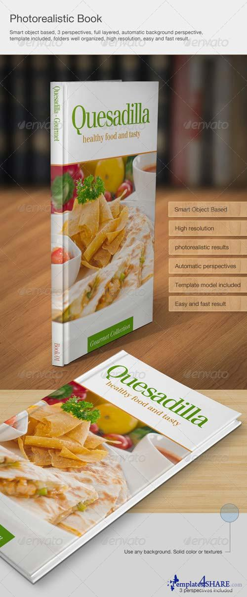 GraphicRiver Photorealistic book