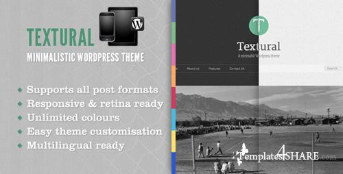 ThemeForest - Textural Wordpress Theme