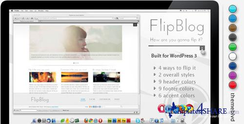 ThemeForest - FlipBlog Premium WordPress Theme