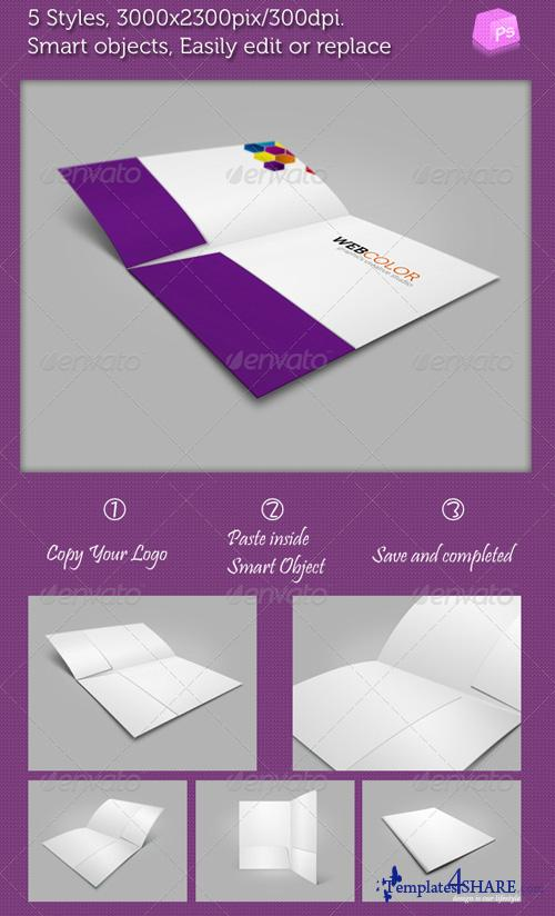 GraphicRiver Company Folders Mock-ups